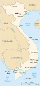 Immagine 1 - mappa Vietnam
