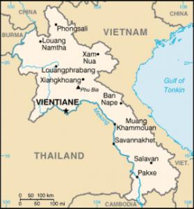 Immagine1 - mappa Laos